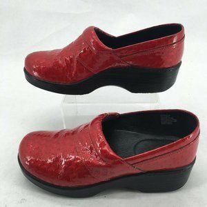 Abeo Flora Slip On Clogs Shoes Womens 7 Casual Com